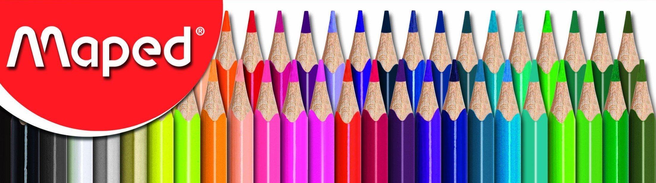 Maped Kırmızı Kutu kurboya kalemi