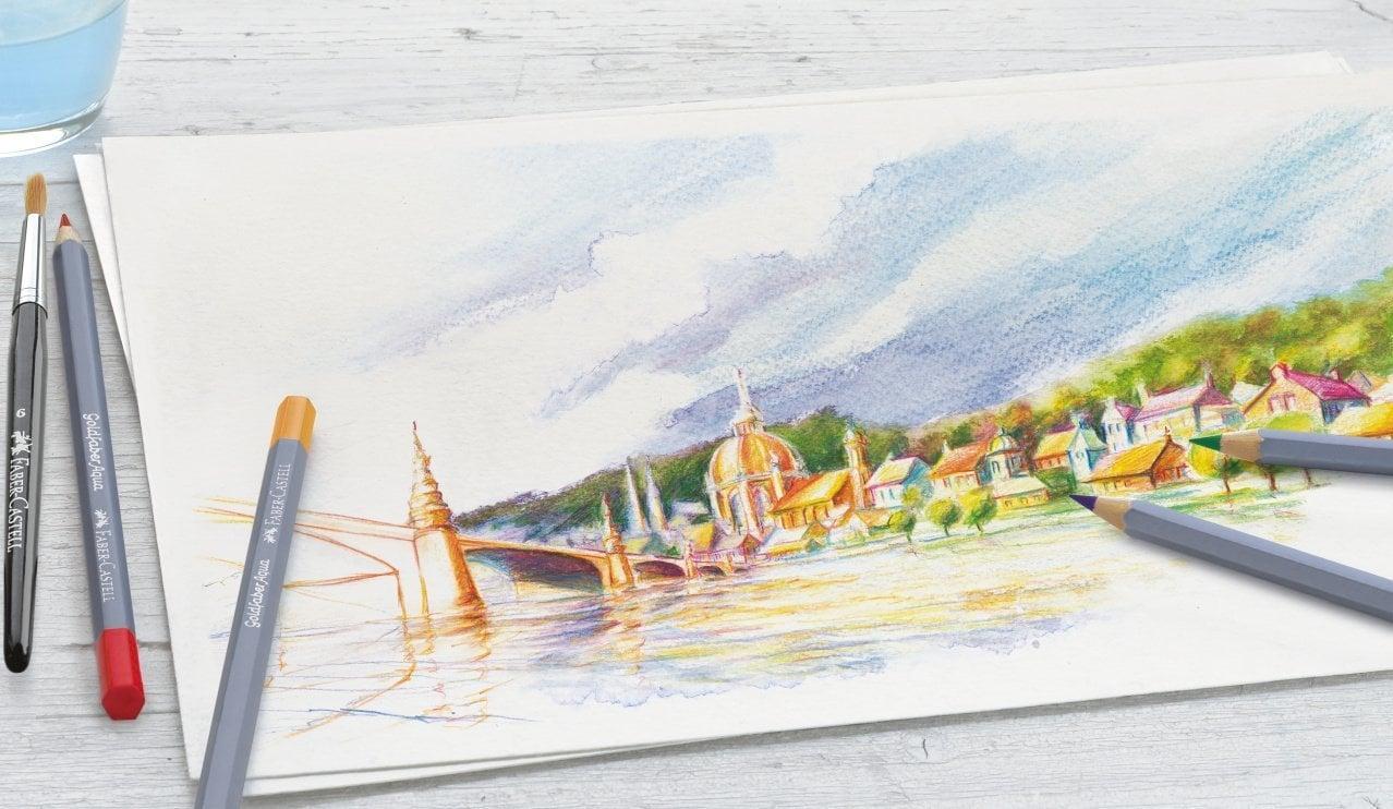 Faber Castell Creative Studio Goldfaber Watercolour Sulu Boya 48li Set